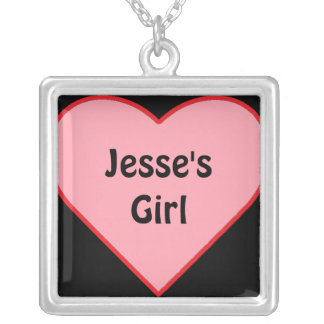 Jesse's Girl Silver Plated Necklace