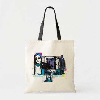 Jessica Jones Comic Panels Tote Bag