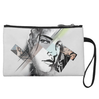 Jessica Jones Face Graphic Wristlet