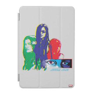Jessica Jones Multi-Color Character Graphic iPad Mini Cover