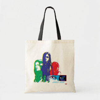 Jessica Jones Multi-Color Character Graphic Tote Bag