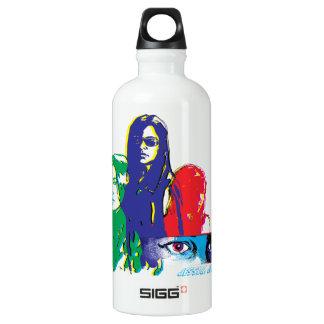 Jessica Jones Multi-Color Character Graphic Water Bottle