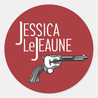 Jessica Le Jeaune Sticker