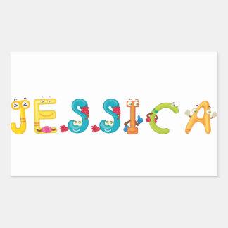 Jessica Sticker