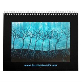 Jessie' Art Calendar 2016
