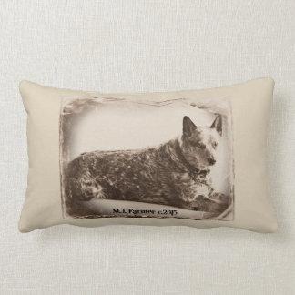 Jessie Blue Heeler in Vintage Lumbar Pillow