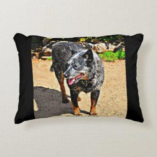 Jessie Blue Heeler Throw Pillow