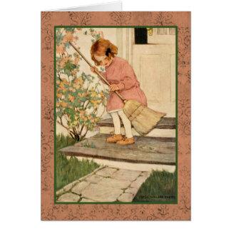 Jessie Wilcox Smith artwork. Card