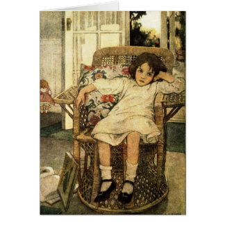 Jessie Wilcox Smith illustration - card