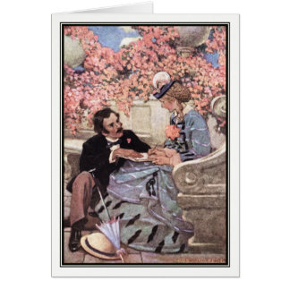 Jessie Willcox Smith - Laurie and Amy Card