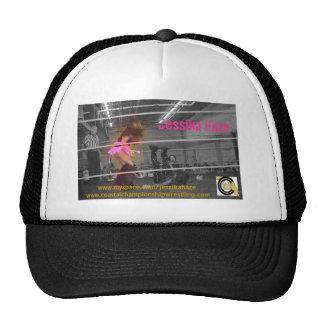 Jessika Haze, www.myspace.com/jessikahazewww.co... Trucker Hat