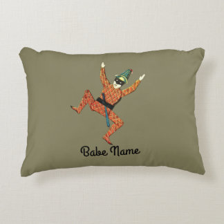Jester 2 decorative pillow