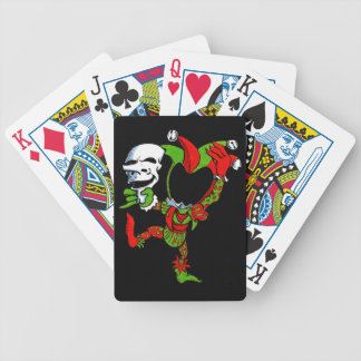 Jester and Mask Poker Deck