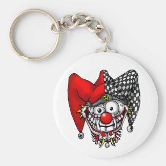 Jester Face Keychain