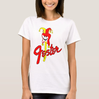 Jester Guitar White T-Shirt