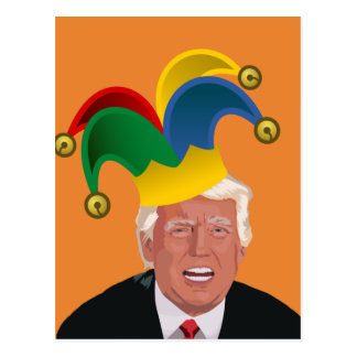 Jester in Chief Postcard