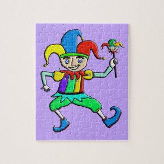 Jester Jigsaw Puzzle