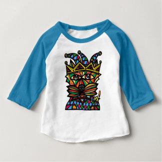 """""""Jester Kat"""" Baby 3/4 Raglan T-Shirt"""