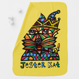 """Jester Kat"" Baby Blanket"