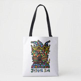 Jester Kat BuddaKats All- Over Tote Bag