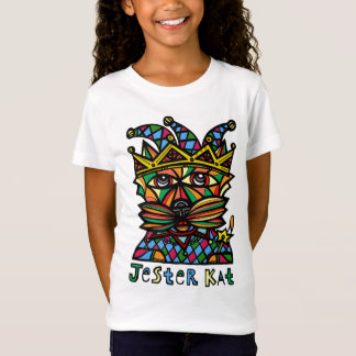 """Jester Kat"" Girls' T-Shirt"