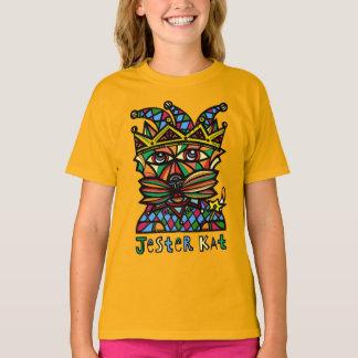 """""""Jester Kat"""" Girls' TAGLESS® T-Shirt"""