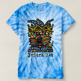 """Jester Kat"" Men's Cyclone Tie-Dye T-shirt"