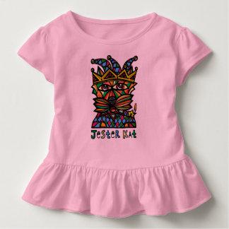 """Jester Kat"" Toddler Ruffle Tee"