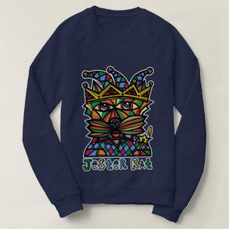 """Jester Kat"" Women's American Apparel Sweatshirt"