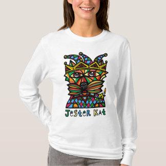 """""""Jester Kat"""" Women's Long Sleeve Shirt"""