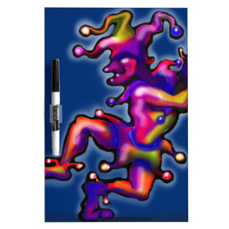 Jester Saphire Blue Dry-Erase Boards