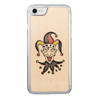 Jester Wood Carved iPhone 8/7 Case