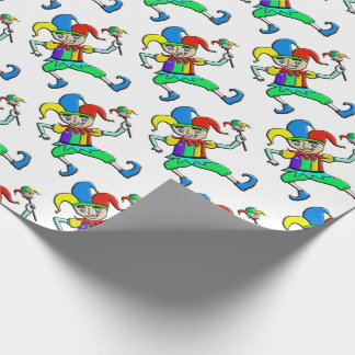 Jester Wrapping Paper