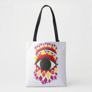 Jester's Eye Tote Bag