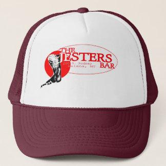 """Jesters """"pretty girl"""" #1 trucker hat"""