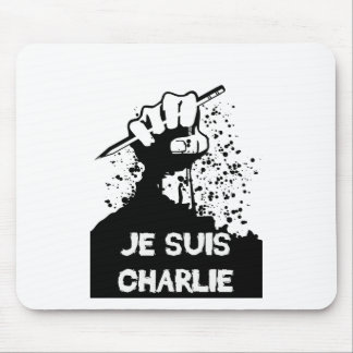 Jesuis Charlie (Zombie Edition) Mouse Pad