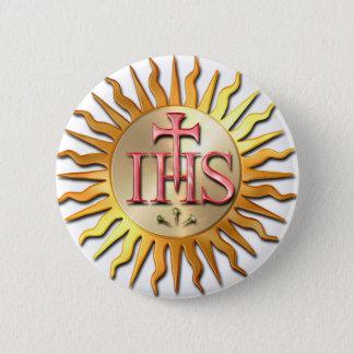 Jesuit Seal 2 Inch Round Button