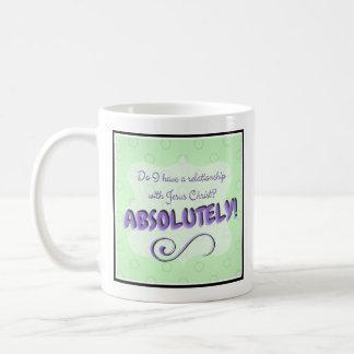Jesus? Absolutely! Coffee Mug