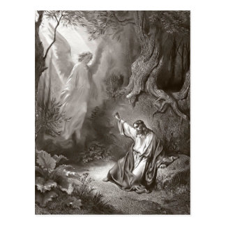 Jesus Agony In The Garden Religious Postcard
