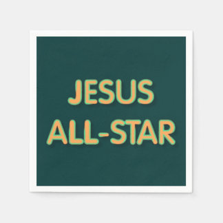 Jesus All-Star Disposable Napkin