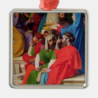 Jesus Among the Doctors Metal Ornament