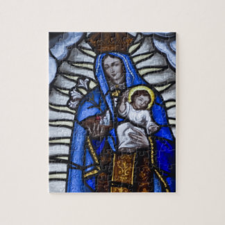 JESUS AND MOTHER MARY JIGSAW PUZZLE