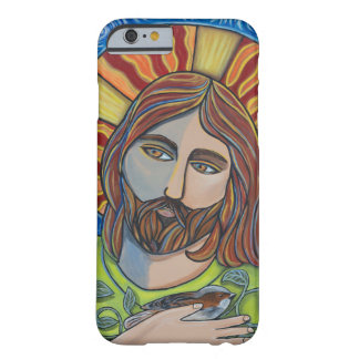 Jesus and Sparrow iphone case