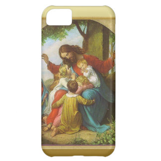 Jesus and the children cover for iPhone 5C