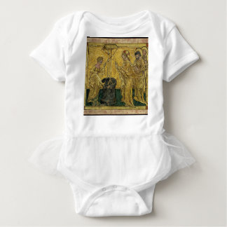 Jesus and the Samaritan Woman at the Well Baby Bodysuit