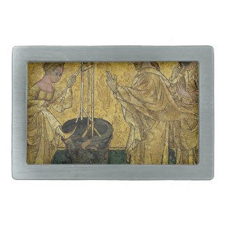 Jesus and the Samaritan Woman at the Well Belt Buckle