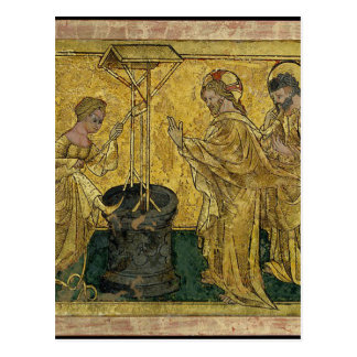 Jesus and the Samaritan Woman at the Well Postcard