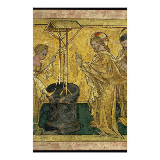 Jesus and the Samaritan Woman at the Well Stationery