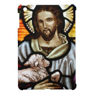Jesus as The Good Shepherd Portrait iPad Mini Covers