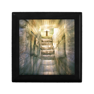 Jesus at Empty Tomb Easter Resurrection Gift Box